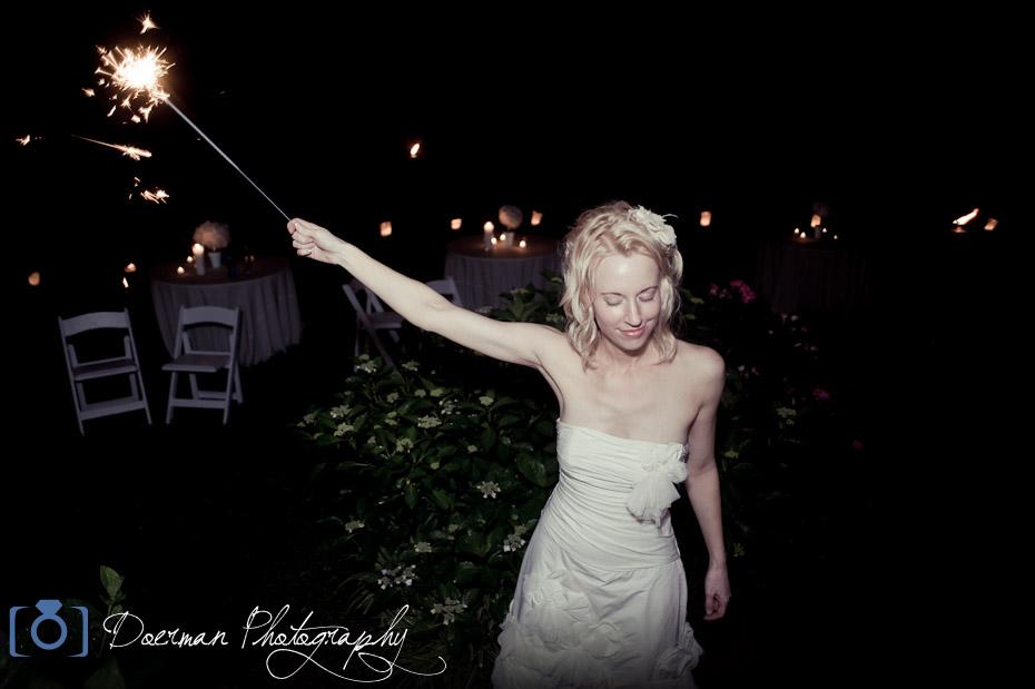 Bride Sparkler Exit