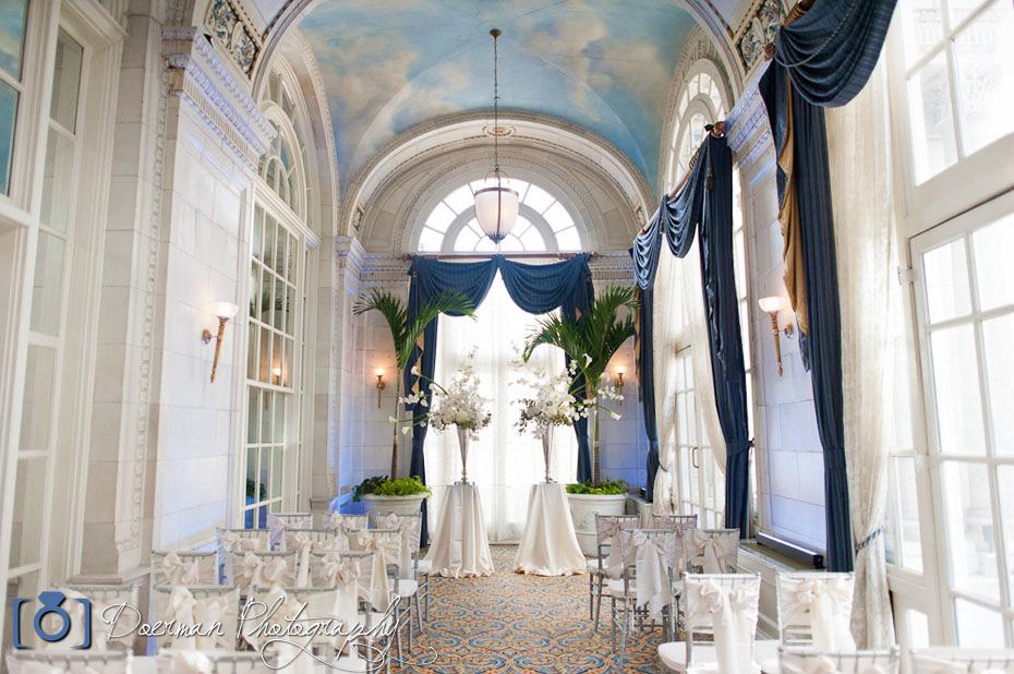 Hermitage Hotel Veranda Wedding