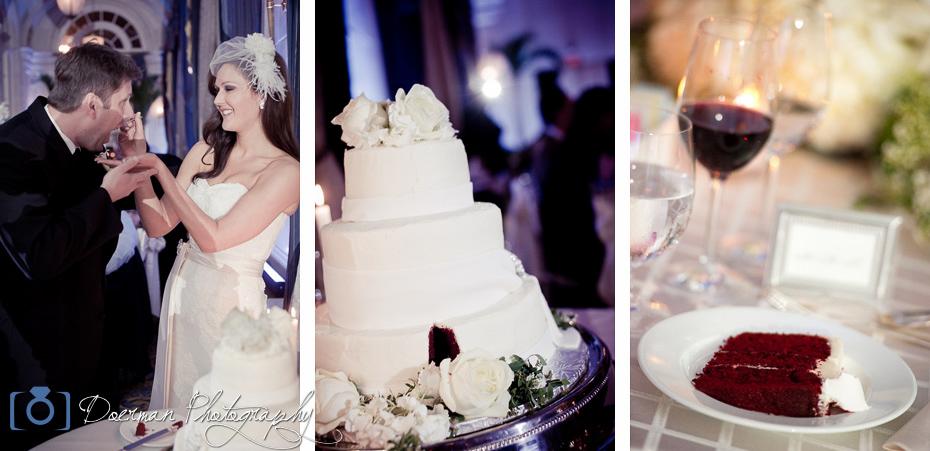 Hermitage Hotel Wedding Cake