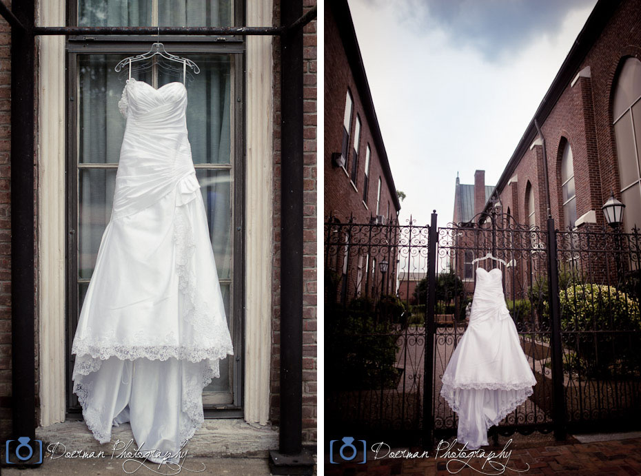 Wedding Dress Photo Nashville Doerman Photography
