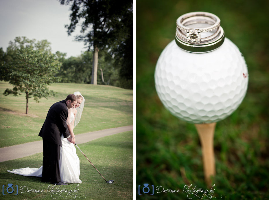 wedding golf course old hickory doerman photography