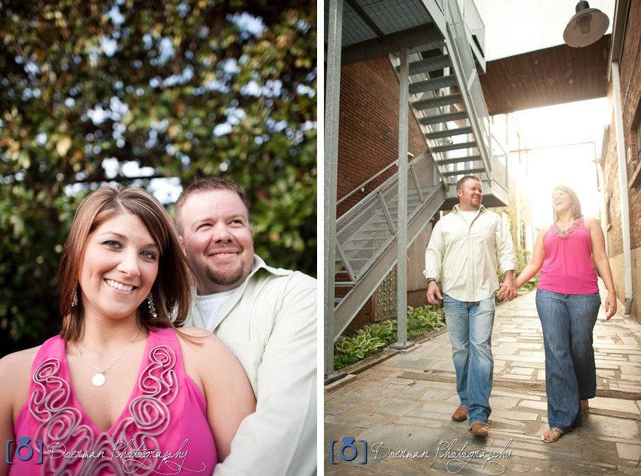 Franklin Engagement Photographers Factory