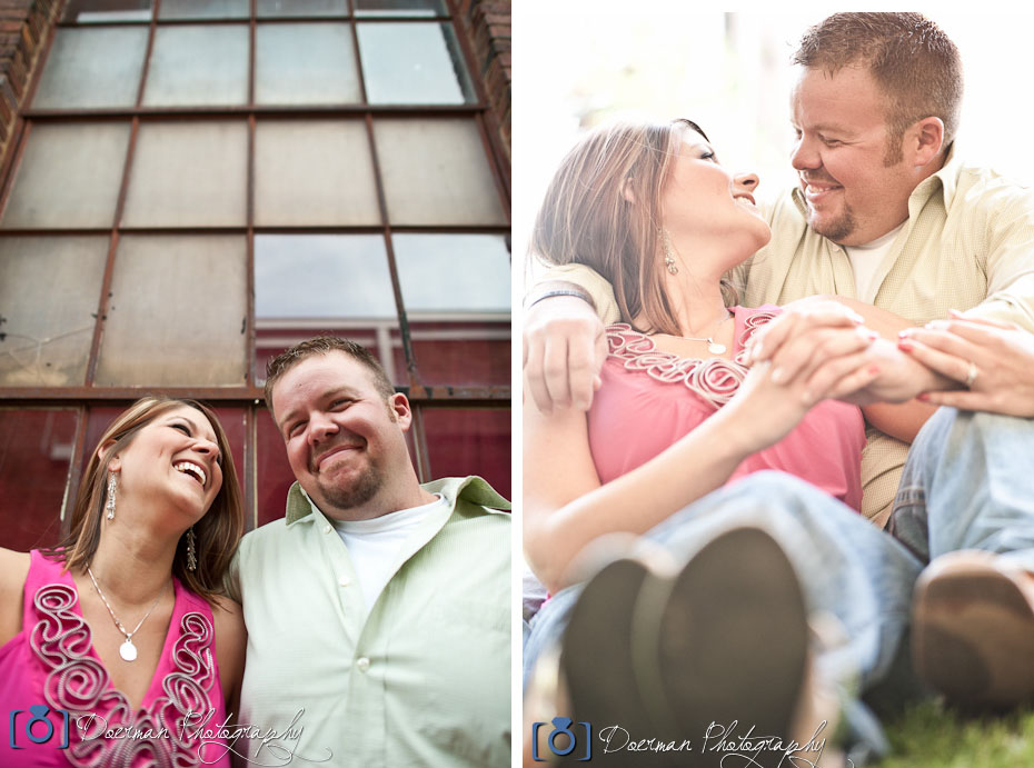 Factory Franklin Engagement Photography
