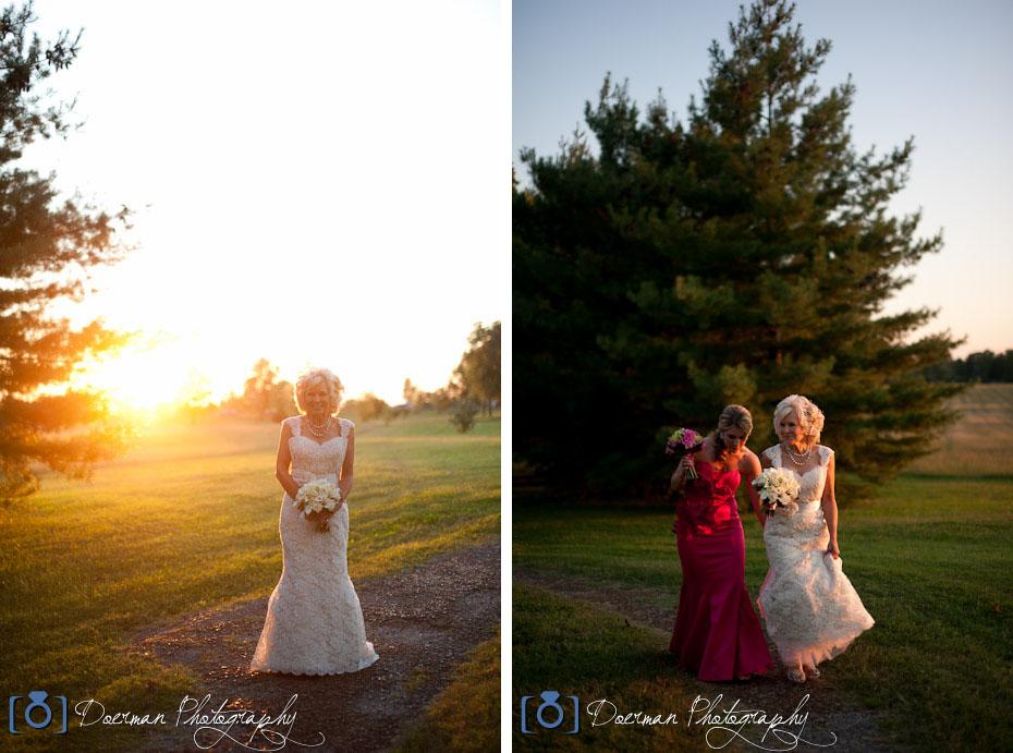 Bride and Bridesmaid Nashville Wedding
