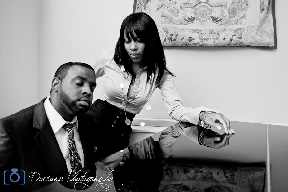 Engagement Photography Hermitage Hotel