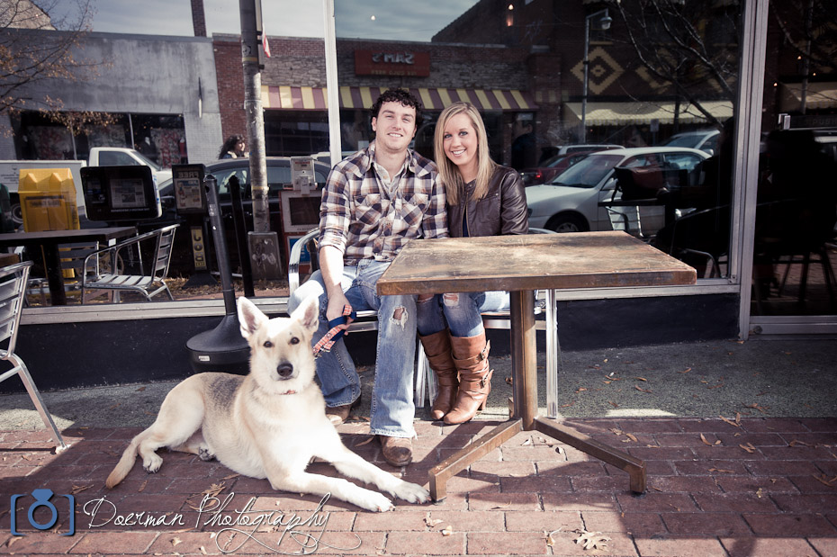 Fido Coffee Nashville Engagement