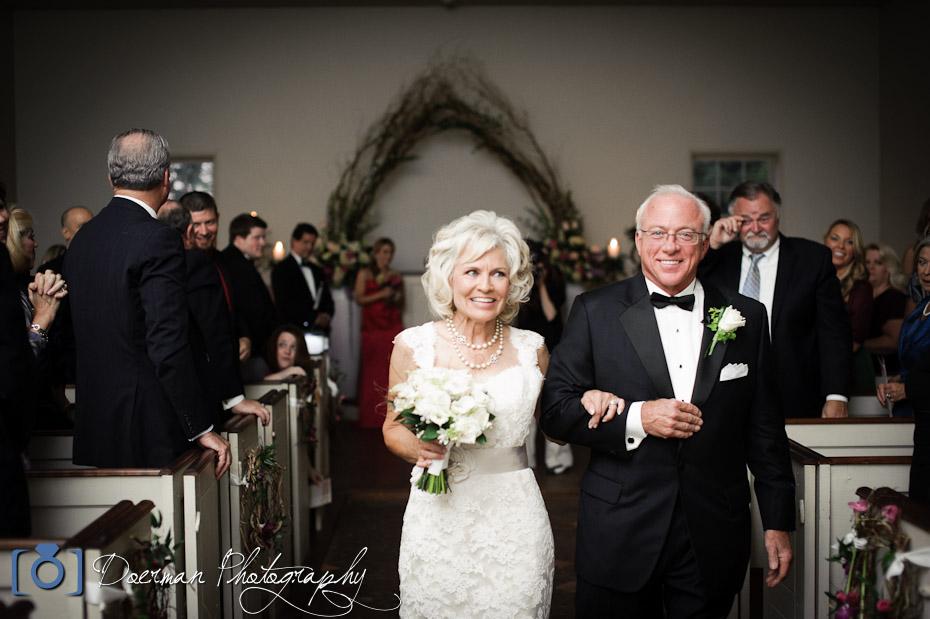 Hermitage Hotel Wedding Ceremony exit
