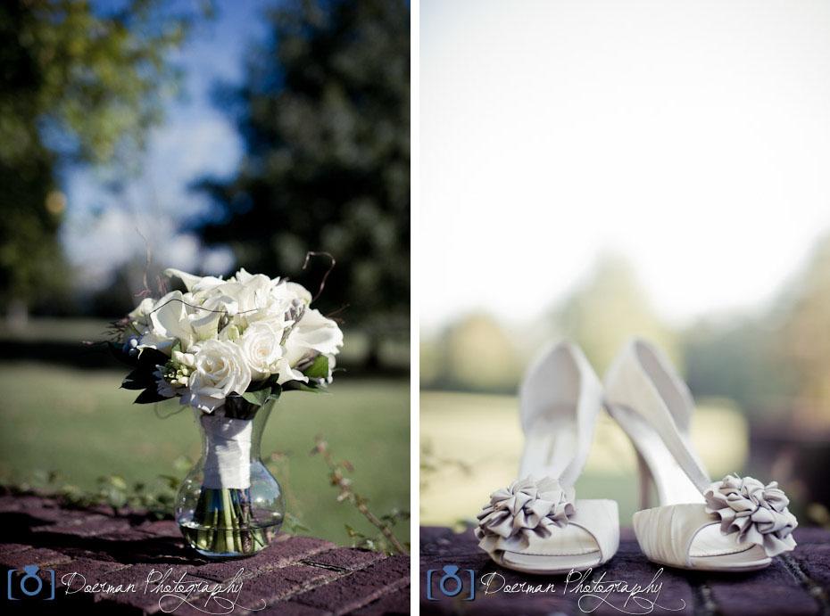 Wedding Bouquet Shoes Rebel Hill Florist