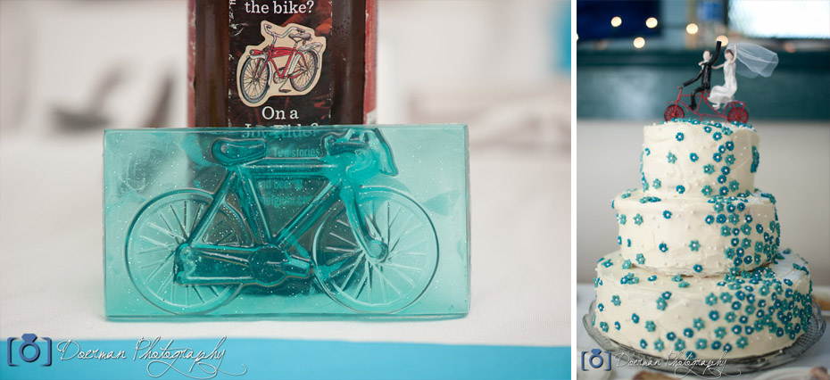Bike Bicycle Themed Wedding - Nashville