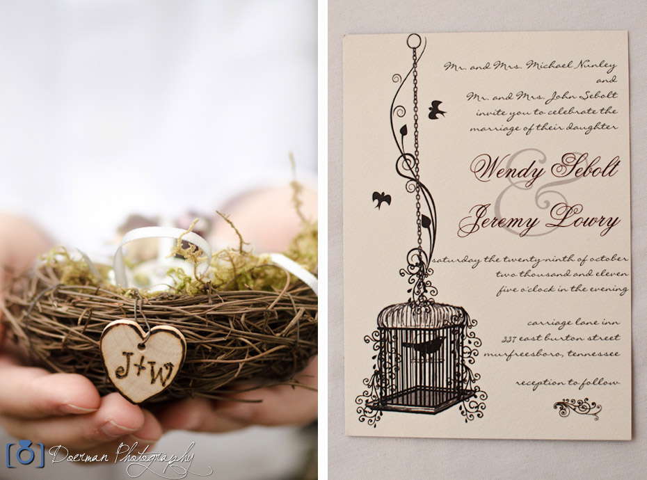 Bird Nest Wedding Decor