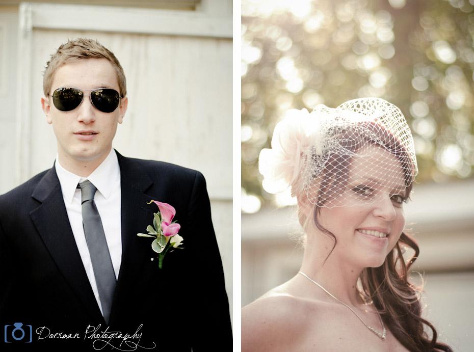 Carriage Lane Inn Wedding Bride and Groom