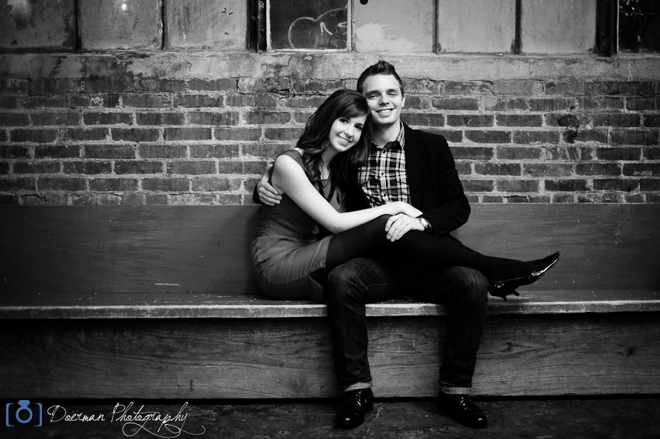 Factory Franklin Engagement Session