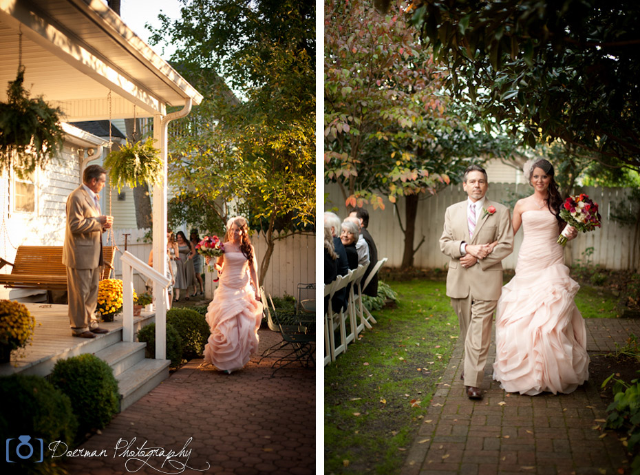 Father Daughter Wedding Aisle