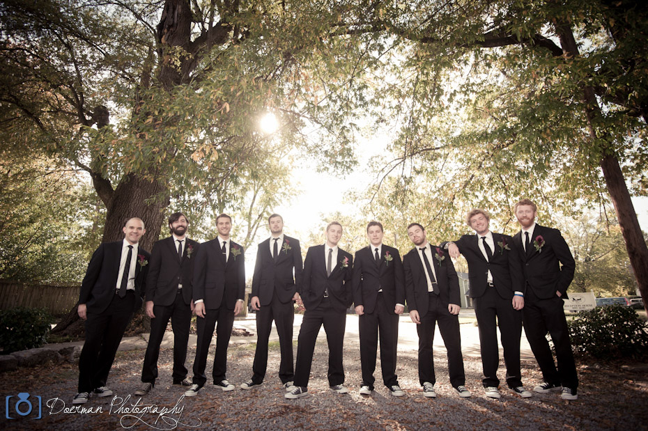 Groomsmen Nashville Wedding