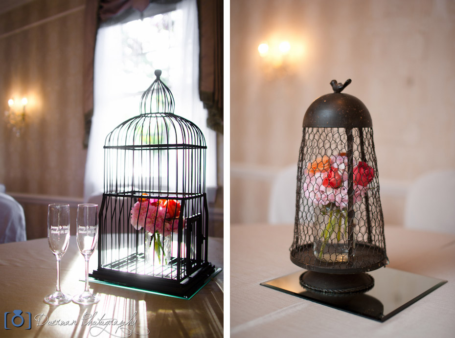 Wedding Bird Cage Theme