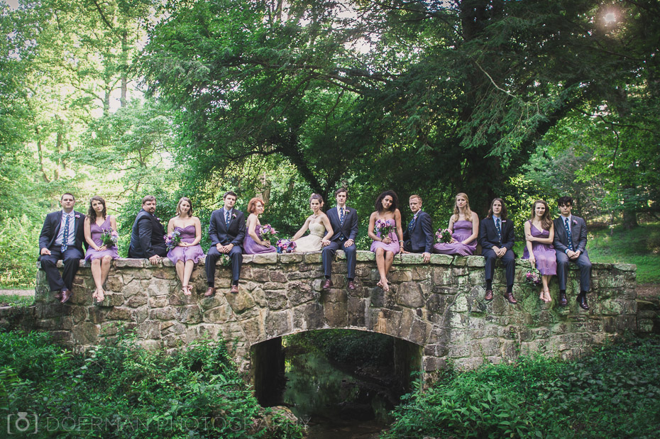 bridal party nashville wedding photographer