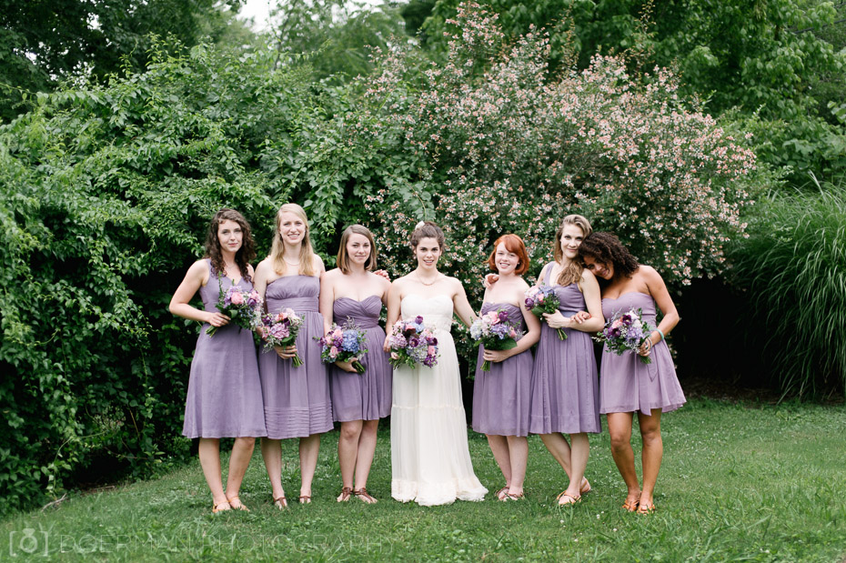 bridesmaids wedding nashville