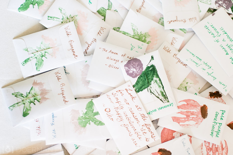 wedding favors seed packets