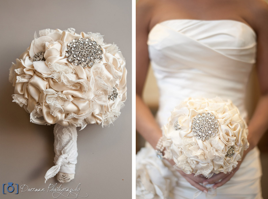 Cloth Wedding Bouquet