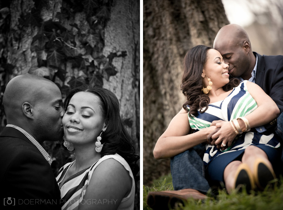 Centennial Park Engagement Pictures