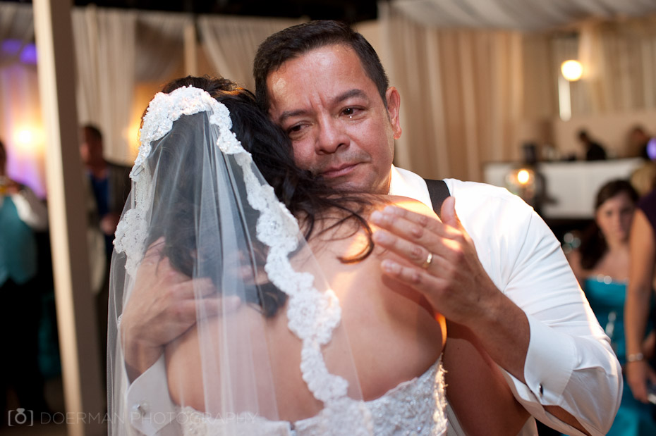 bride and father dance