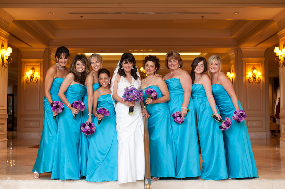 bridesmaids cool springs wedding