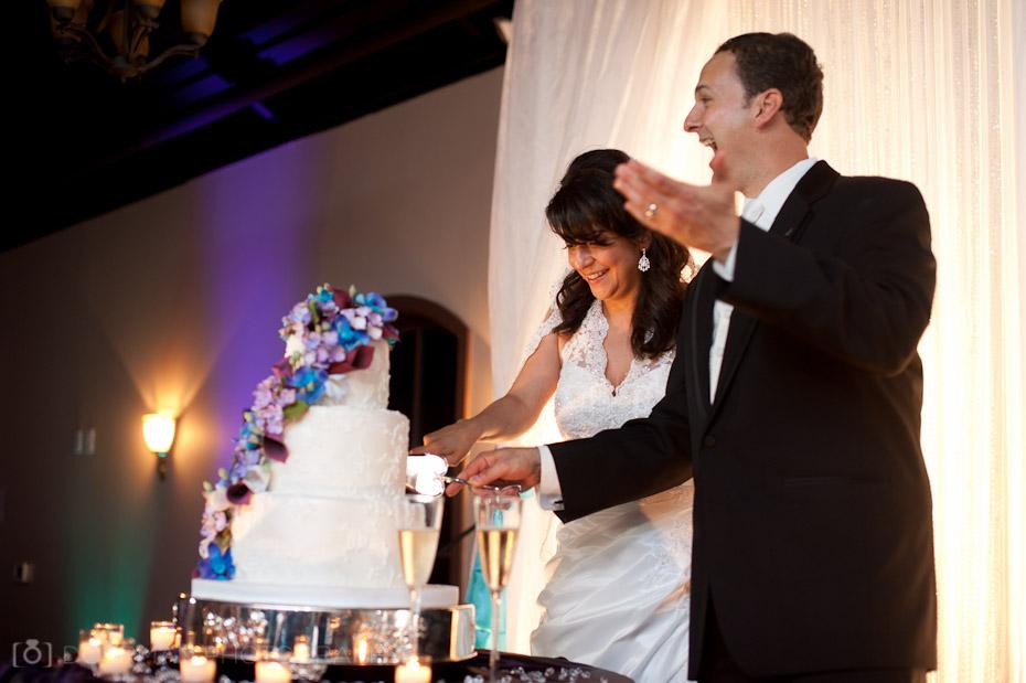 cake cutting wedding