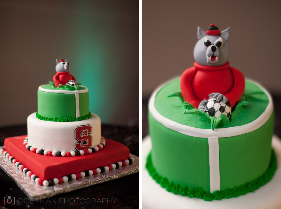 French Confection Groom's Cake