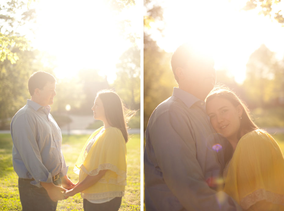 engagement photography lens flare