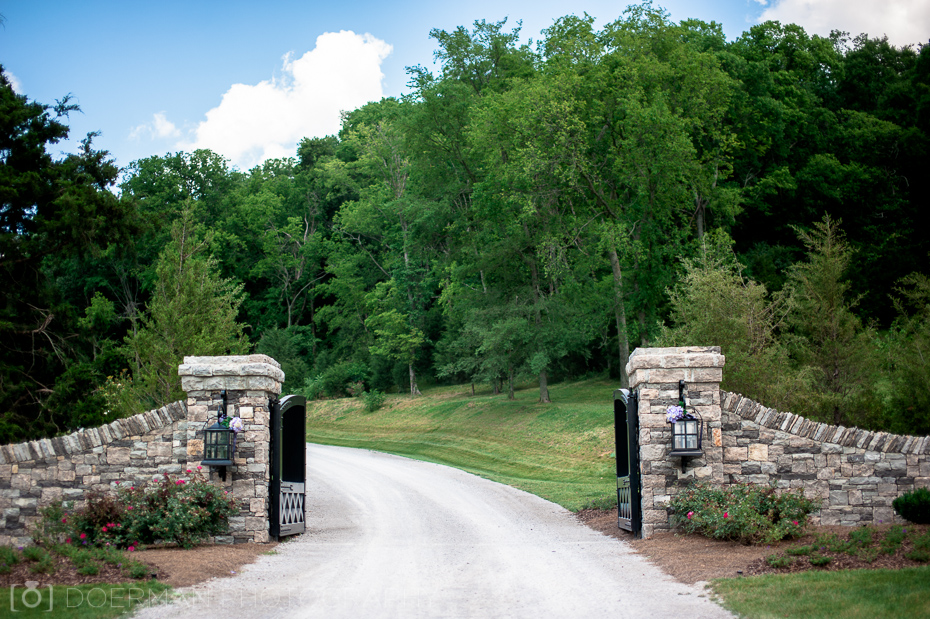 trinity view farm entrance