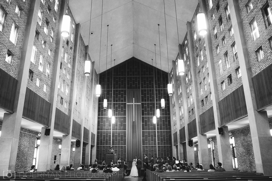 Wedding at Vanderbilt's Benton Chapel