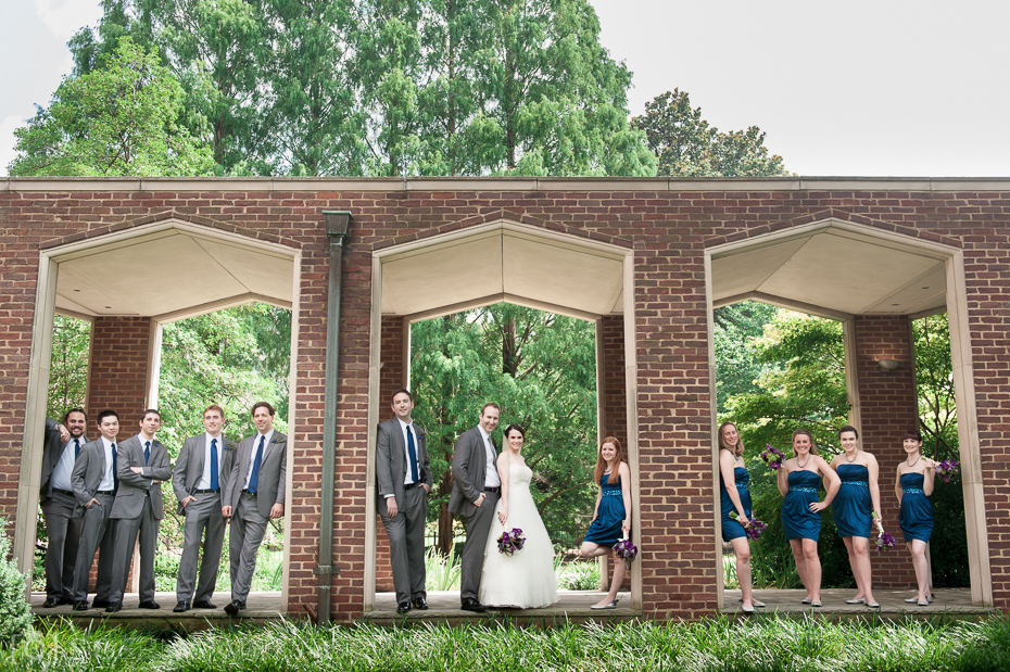 Bridal Party at Benton Chapel