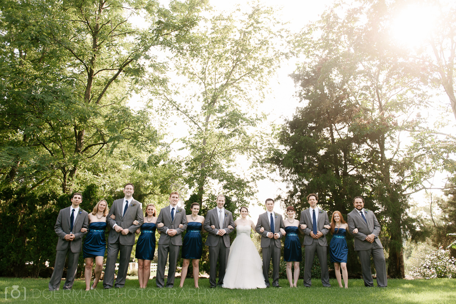 Cedarwood nashville weddings bridal party backlit