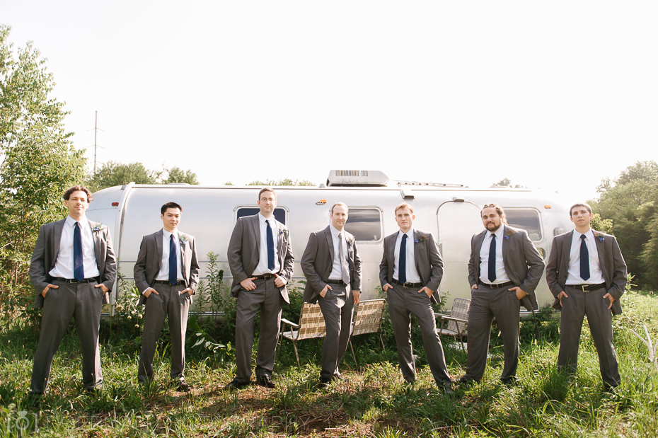 Groomsmen at Cedarwood Nashville