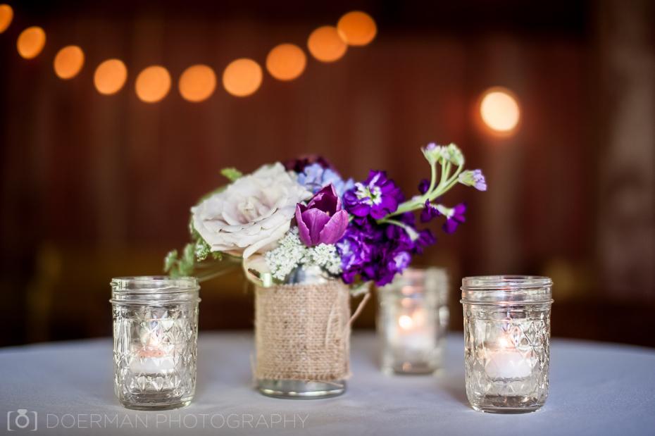 Table floral decor Cedarwood