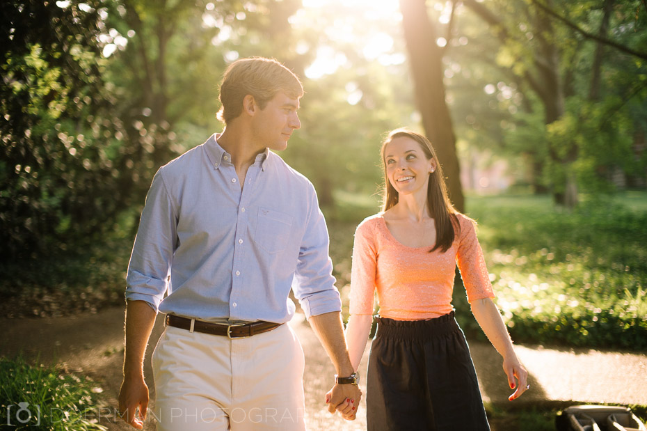 Engagement Session at Vanderbilt