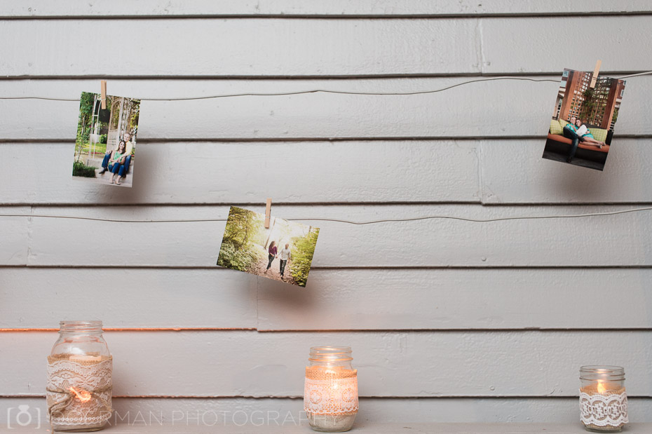 engagement photo decor ideas