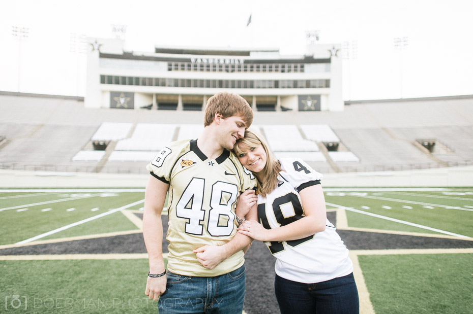 kait and ryan at vanderbilt-stadium