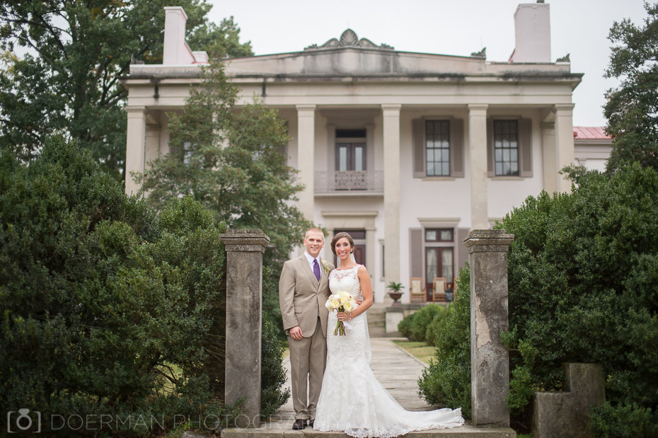 wedding at belle meade plantation