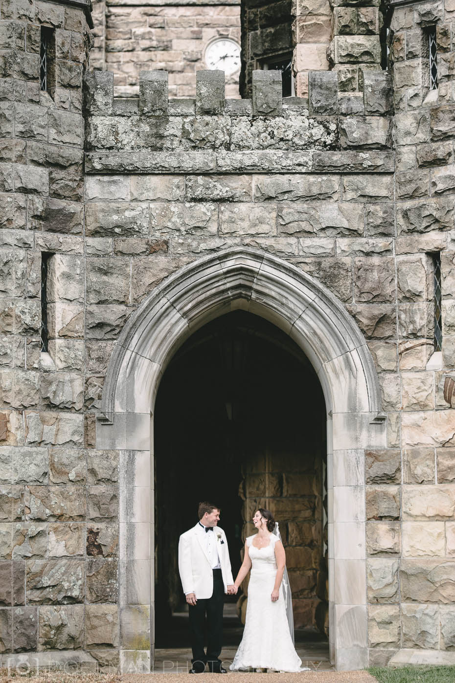 All Saints Chapel wedding in Sewanee TN