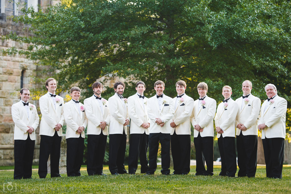 groomsmen all saints chapel