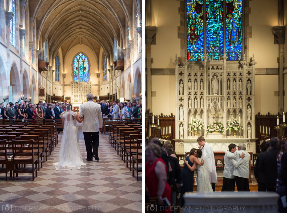 Sewanee, TN wedding ceremony