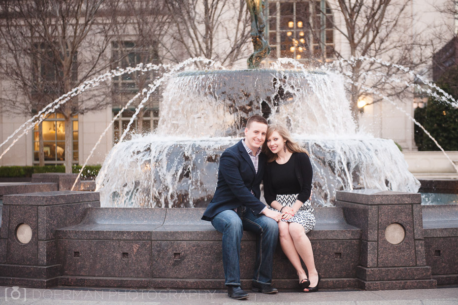Schermerhorn fountain engagement