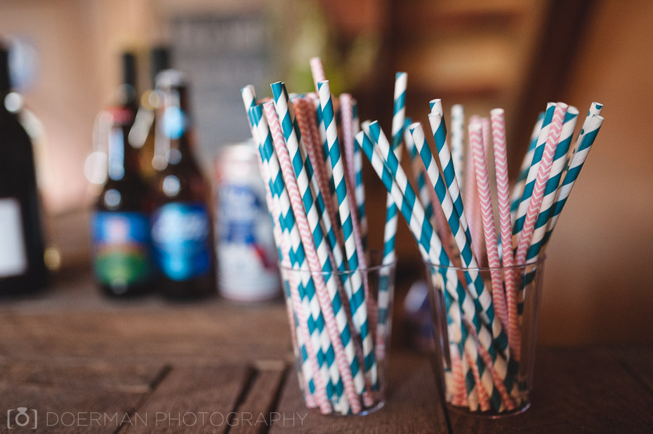 wedding drink straws