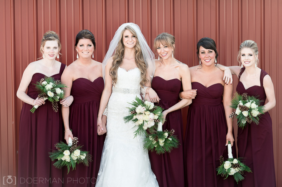 bridesmaids summertown tn wedding