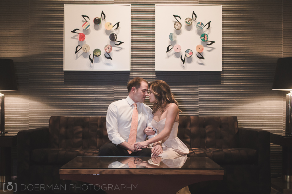 engagement session Omni Hotel