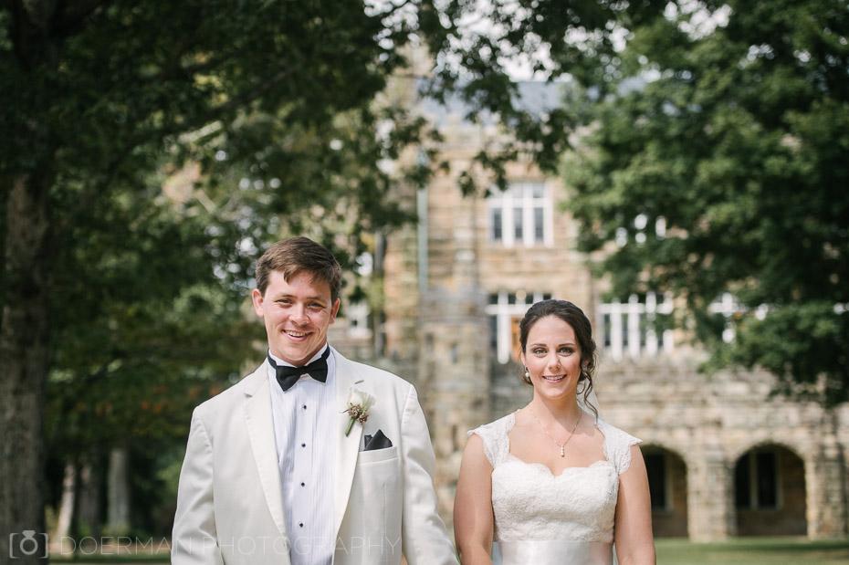 wedding at all saints chapel